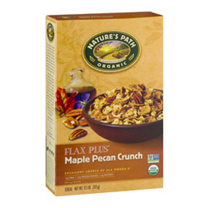 Natures Path Organic Flax Plus Maple Pecan Cereal