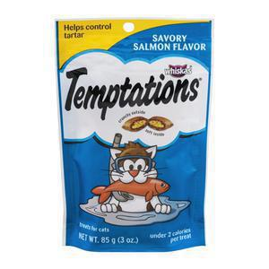Whiskas Temptations Cat Treats - Salmon