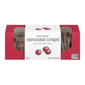 Raincoast Crisps - Cranberry Hazelnut