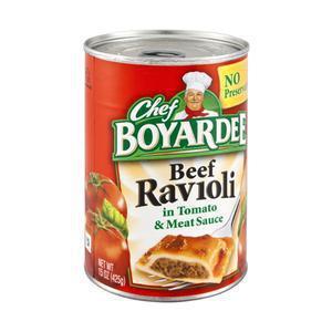 Chef Boyardee Meat Ravioli