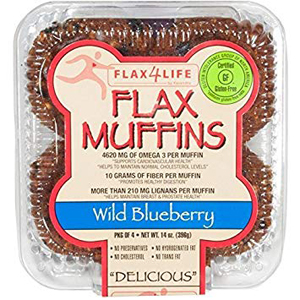 Flax4Life - Gluten Free Blueberry Muffins