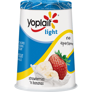 Yoplait Light Straw-Banana