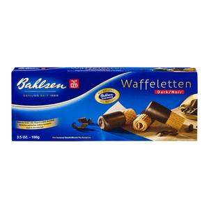Bahlsen Cookies -  Waffleten Dark Chocolate
