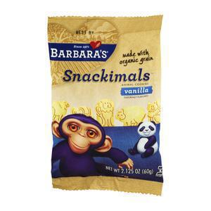 Barbaras Snackimals Vanilla Cookies