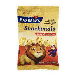 Barbaras Snackimals Choc Chip Cookies