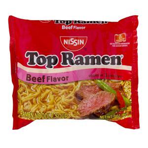 Top Ramen Beef