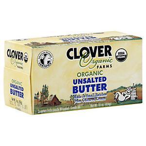 Clover Organic Butter - Unsalted