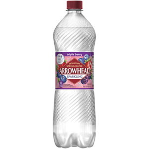 Arrowhead Sparkling Water - Triple Berry