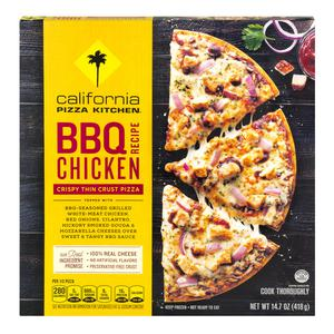 CPK BBQ Chicken Pizza