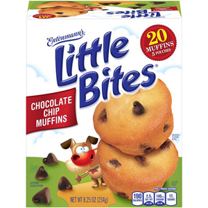 Entenmanns Little Bites - Choc Chip Muffins
