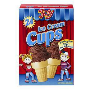 Joy Ice Cream Cones - Cake Cups