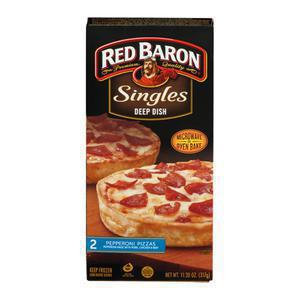 Red Baron Deep Dish Pepperoni Singles