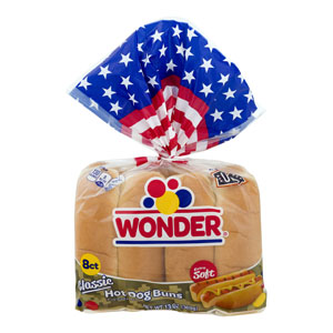 Wonder Bread - Classic Hot Dog Buns