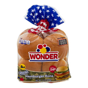 Wonder Bread - Classic Hamburger Buns