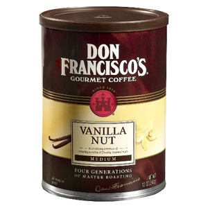 Don Francisco Vanilla Nut Ground Coffee
