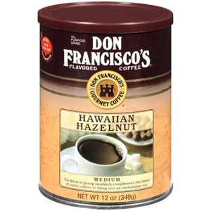 Don Francisco Hawaiian Hazelnut Ground Coffee
