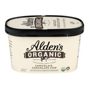 Alden`s Organic Ice Cream - Choc Choc Chip