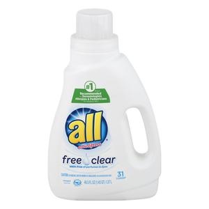 All Laundry - Free & Clear 32 Loads