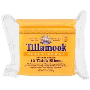 Tillamook Cheddar - Sliced