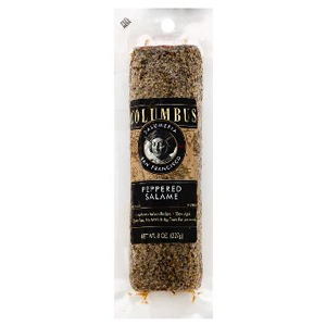 Columbus Whole Salame - Peppered Gluten Free