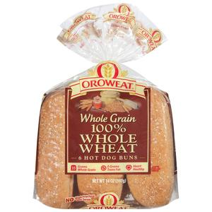 Oroweat Hot Dog Buns - Wheat