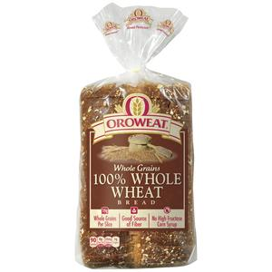 Oroweat Bread - 100% Wheat