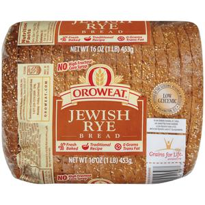 Oroweat Bread - Jewish Rye