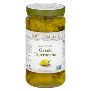 Jeffs Naturals - Golden Greek Peperoncini