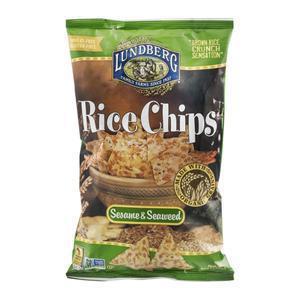 Lundberg Rice Chips - Sesame & Seaweed