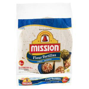 Mission Flour Tortillas Burrito