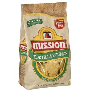 Mission Tortilla Chips Rounds