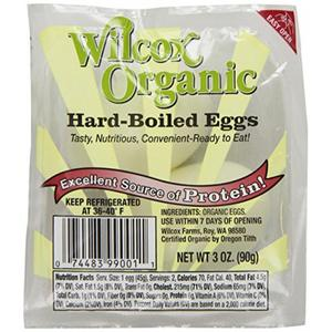Wilcox Organic Hard Boiled Eggs