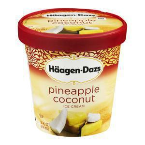 Haagen Dazs Pineapple Coconut