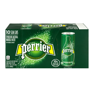 Perrier Sparkling Slim Can