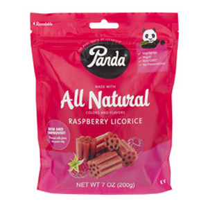 Panda Raspberry Licorice
