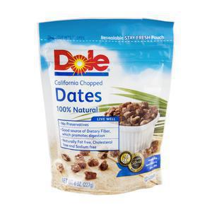 Dole Chopped Dates