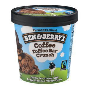 Ben and Jerry`s Coffee Heath Bar Crunch BJS
