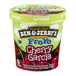 Ben and Jerry`s Yogurt Cherry Garcia BJS