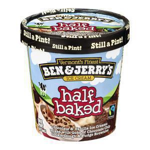 Ben and Jerry`s Half Baked BJS