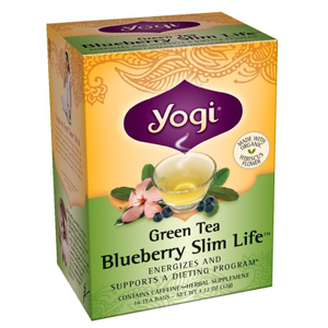 Yogi Tea - Blueberry Slim Life Green Tea