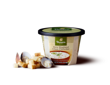 Panera Soup - New England Clam Chowder