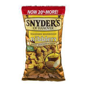 Snyders Pieces - Honey Mustard Onion
