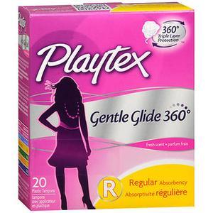 Playtex Gentle Glide Tampons 360 - Regular