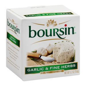 Boursin Cheese - Garlic & Fine Herbs