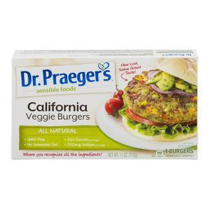 Dr Praegers Veggie Burger