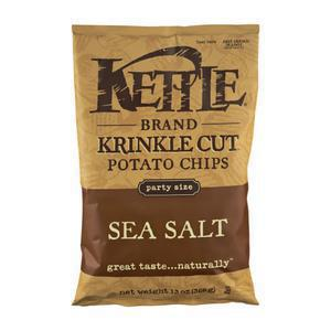 Kettle Chips Sea Salt - Krinkle Cut