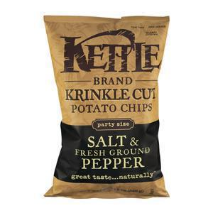 Kettle Chips Salt & Pepper - Krinkle Cut