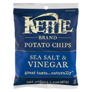 Kettle Chips Snack Size - Sea Salt Vinegar