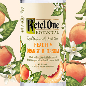 Ketel One Vodka Botanical - Peach & Orange Blossom