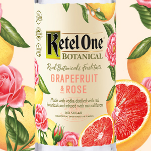 Ketel One Vodka Botanical - Grapefruit & Rose